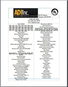 Catalog | ADIWIRE.COM Electrical Wire, Bonded Wire, Battery Cable ...